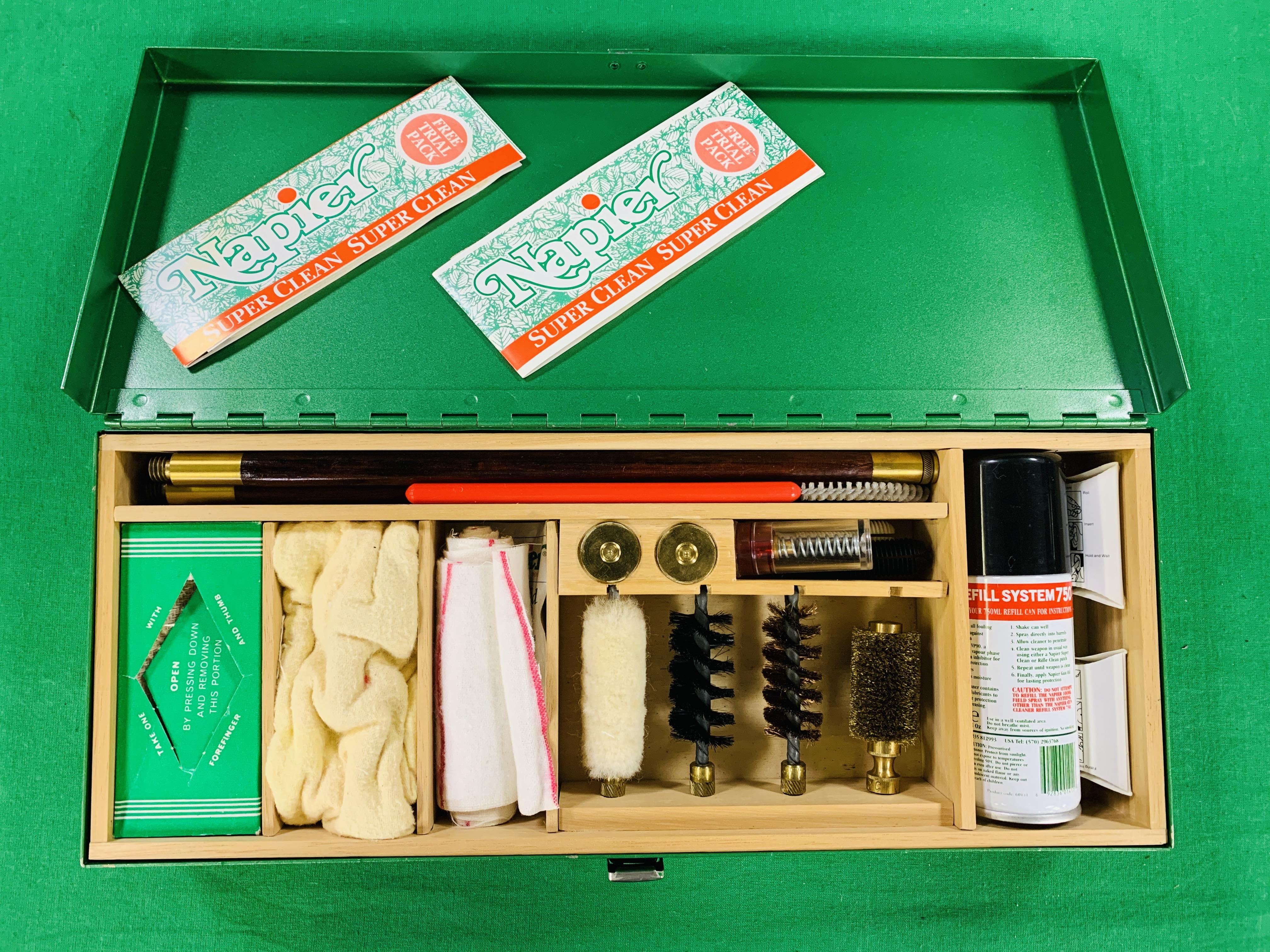 12 GAUGE SHOTGUN CLEANING KIT AND ACCESSORIES