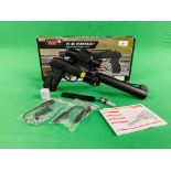A GAMMO PT-85 BLOWBACK SEMI-AUTO 8 SHOT CO² AIR PISTOL BOXED AS NEW - (ALL GUNS TO BE INSPECTED AND