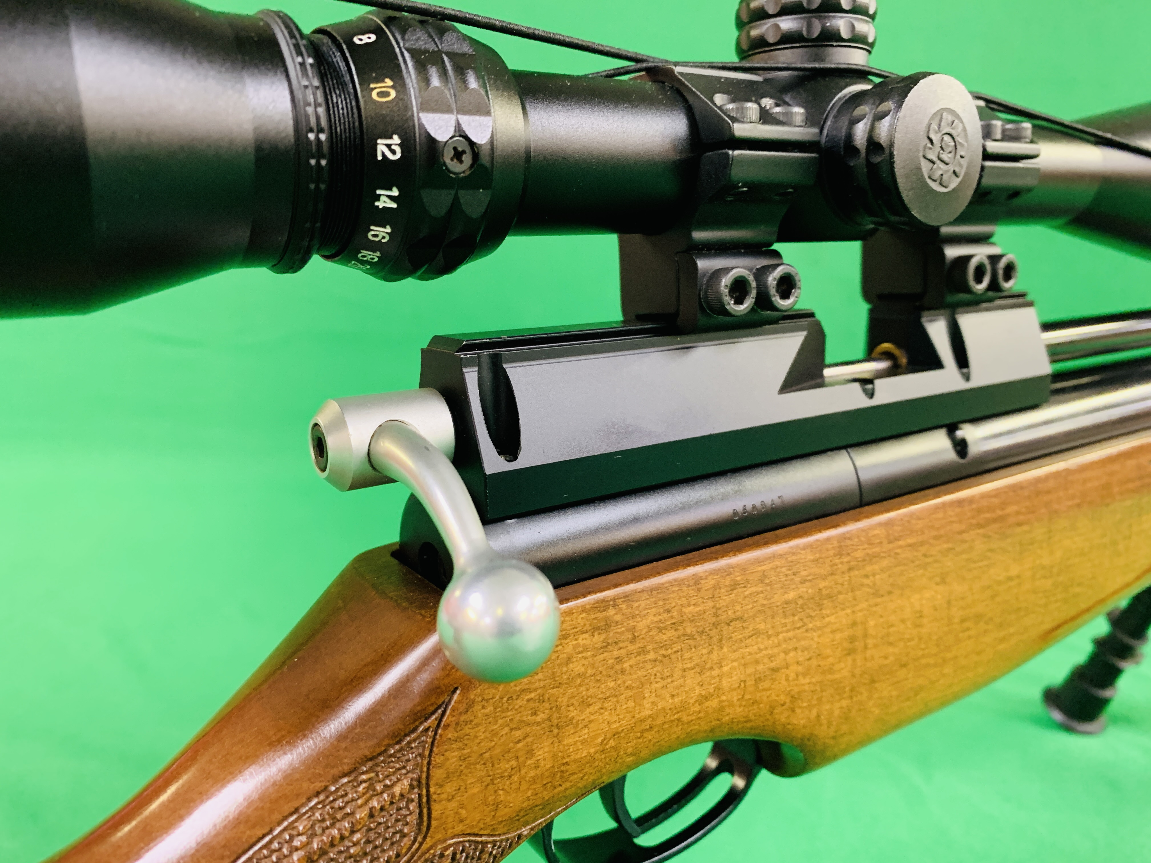 AIR ARMS S400 CLASSIC .177 BOLT ACTION PCP AIR RIFLE FITTED WITH BONUS 6. - Image 11 of 17