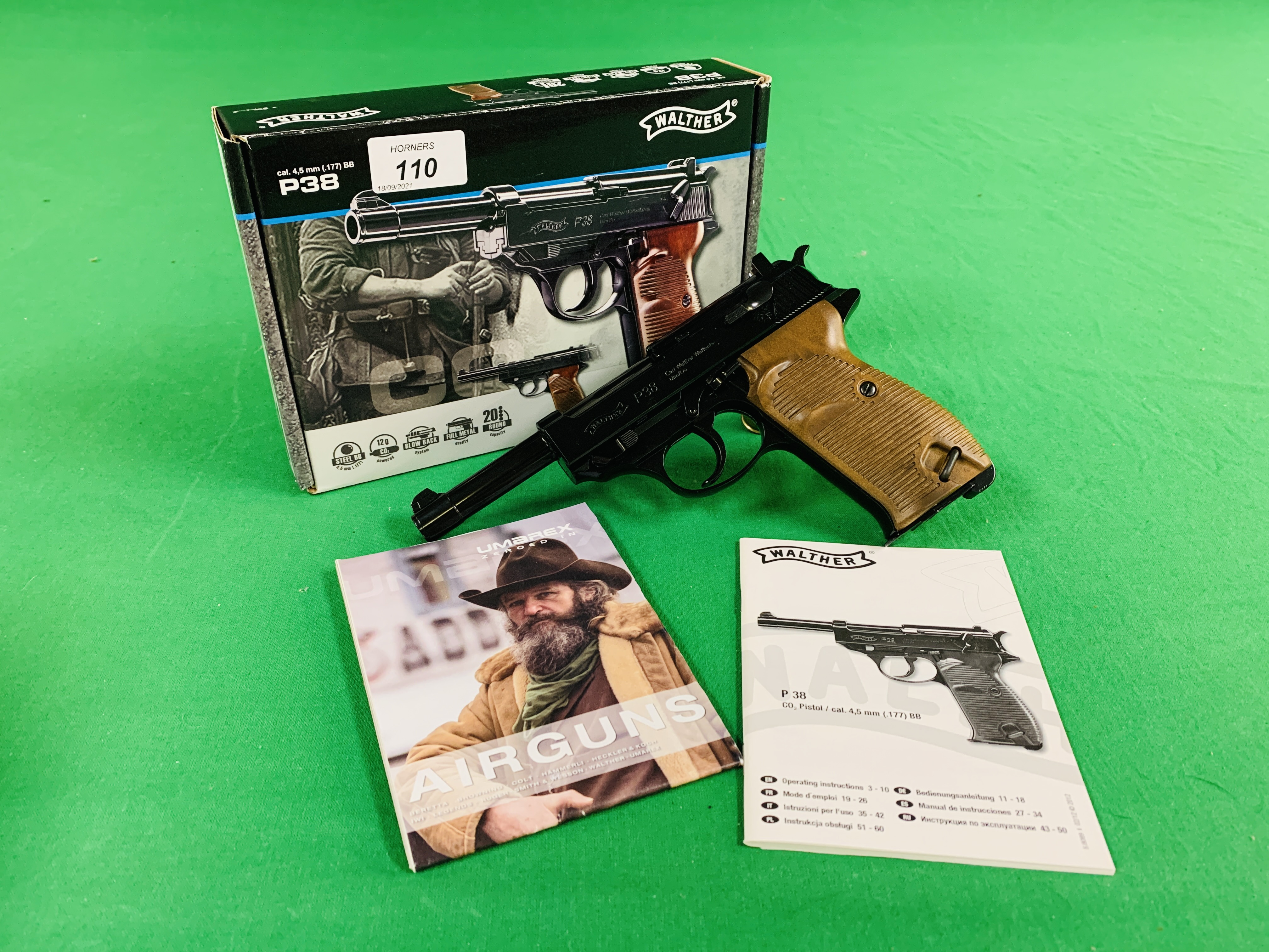 A WALTHER P38 .
