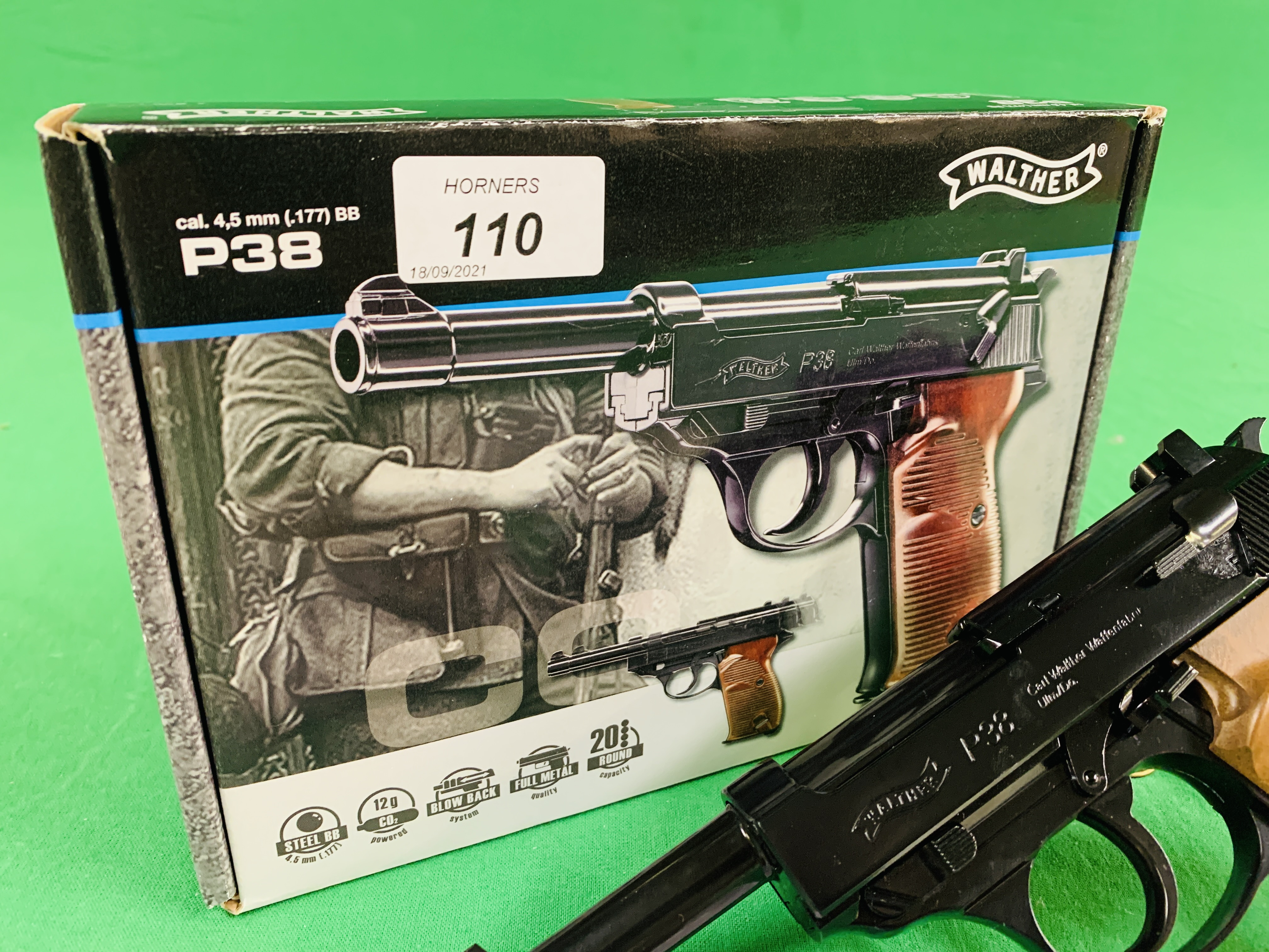 A WALTHER P38 . - Image 3 of 9