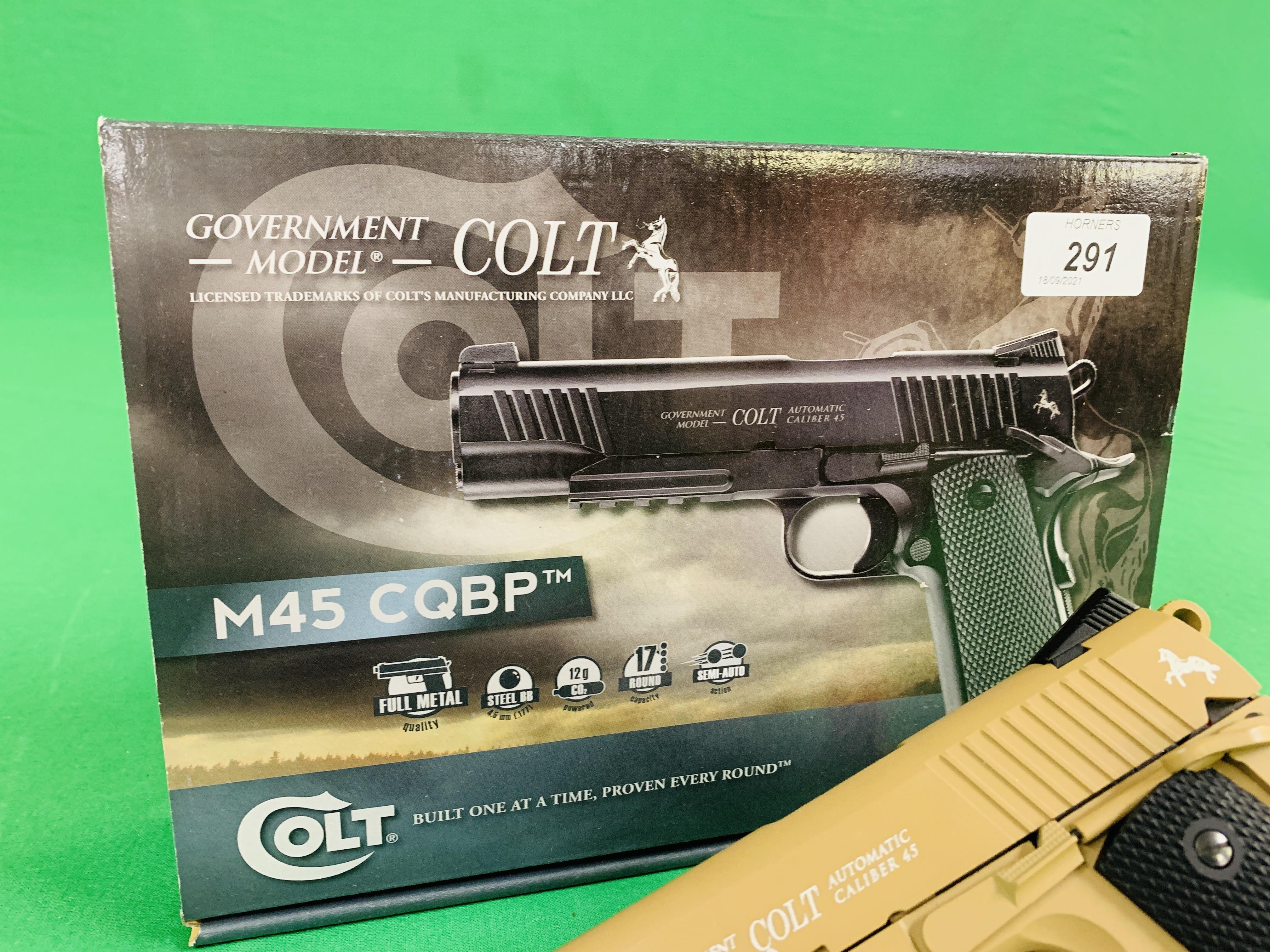 A COLT GOVERNMENT MODEL M45 CQBP . - Image 6 of 6