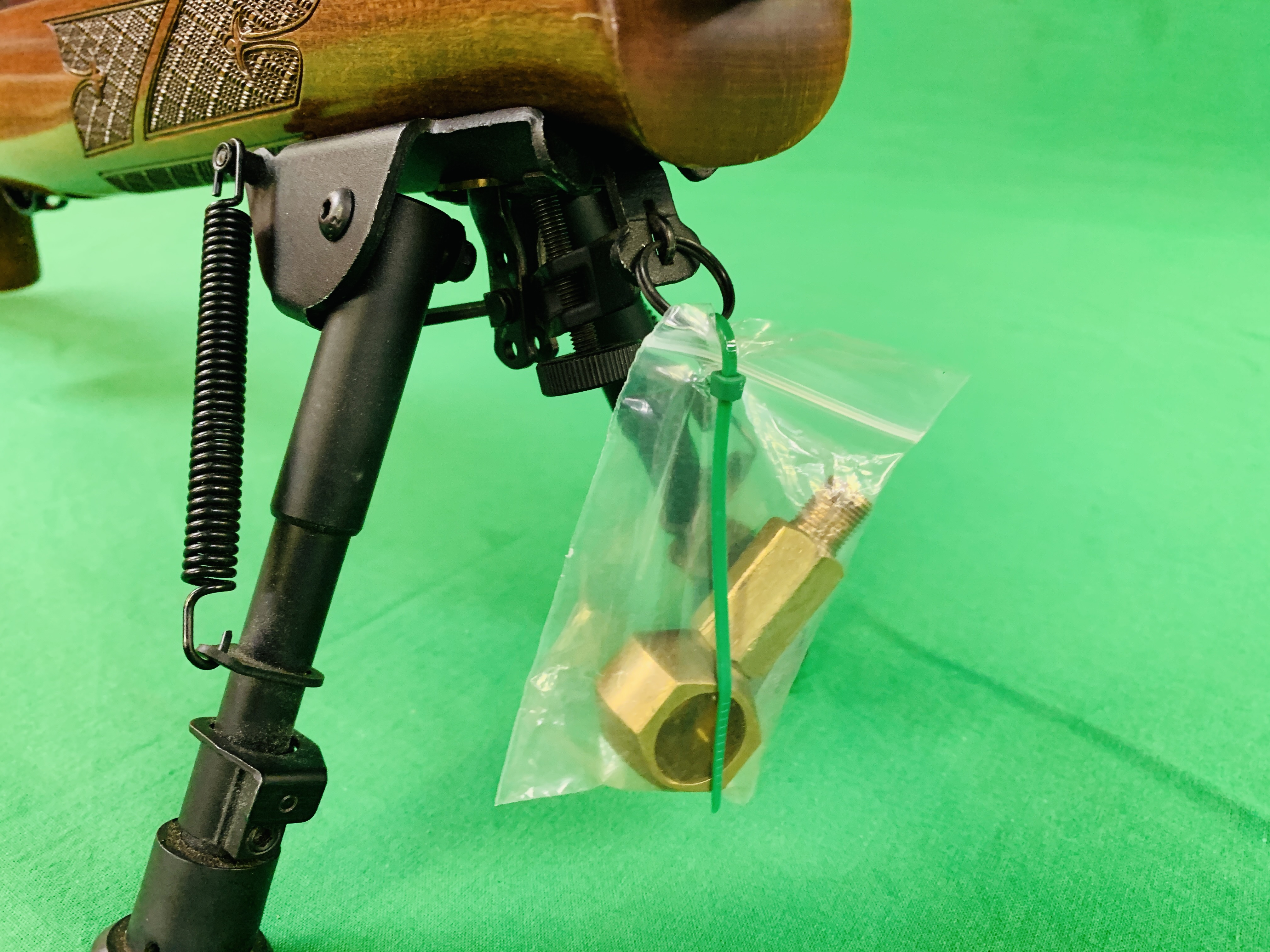 AIR ARMS S400 CLASSIC .177 BOLT ACTION PCP AIR RIFLE FITTED WITH BONUS 6. - Image 16 of 17