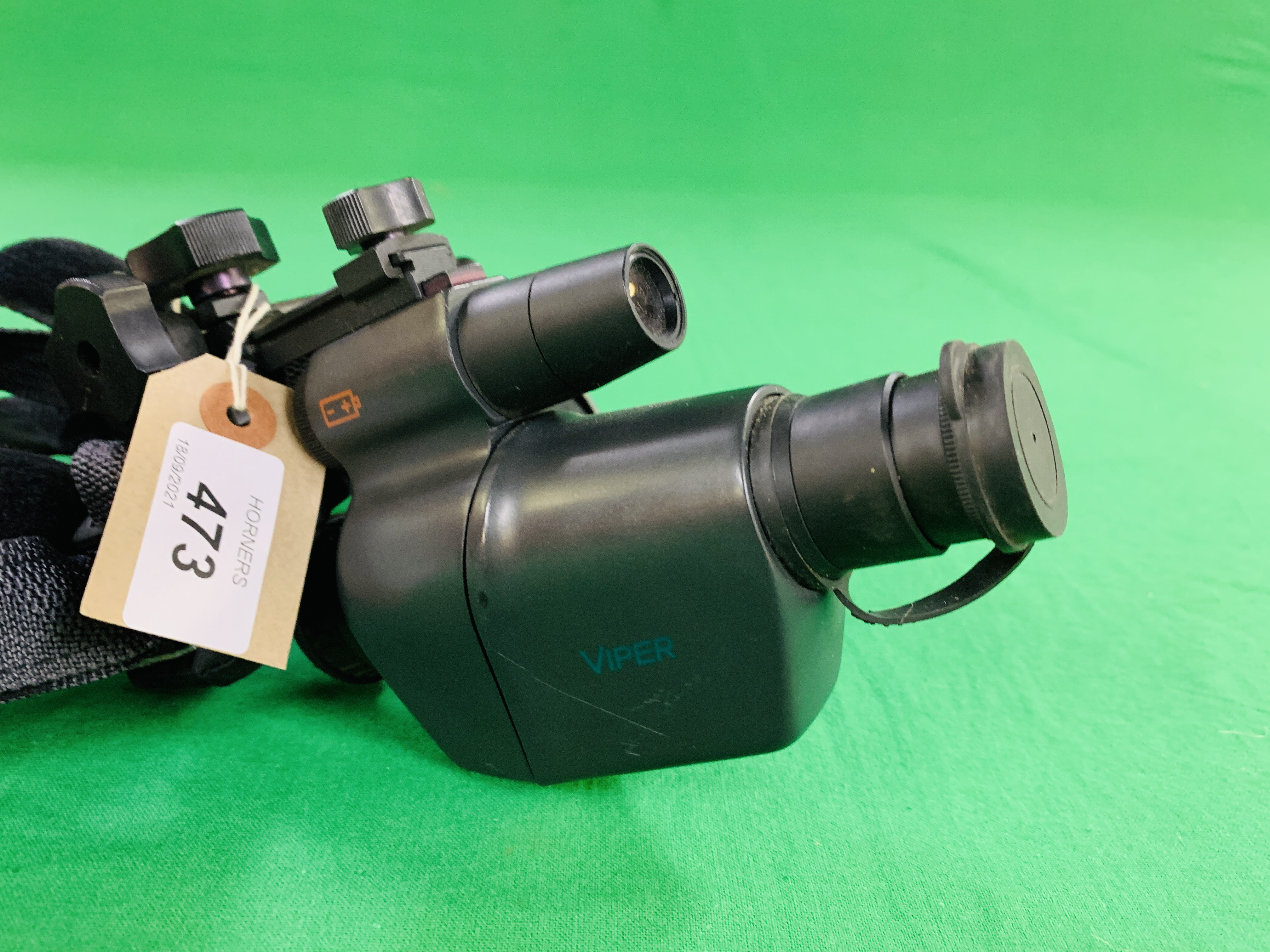 A ATN VIPER NIGHT VISION MONOCULAR INFERRED SITE WITH HEAD BAND - Image 2 of 6