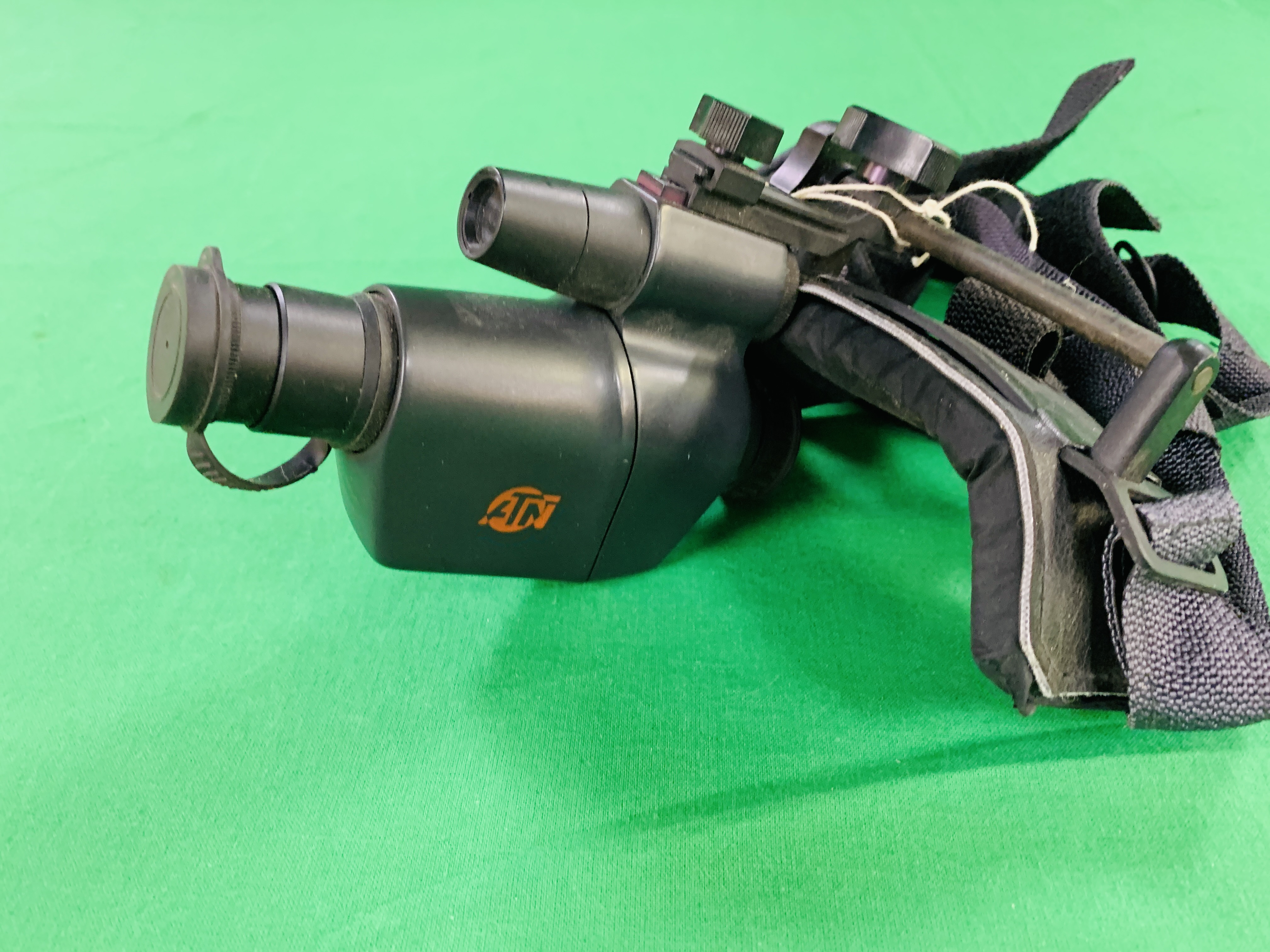 A ATN VIPER NIGHT VISION MONOCULAR INFERRED SITE WITH HEAD BAND - Image 6 of 6