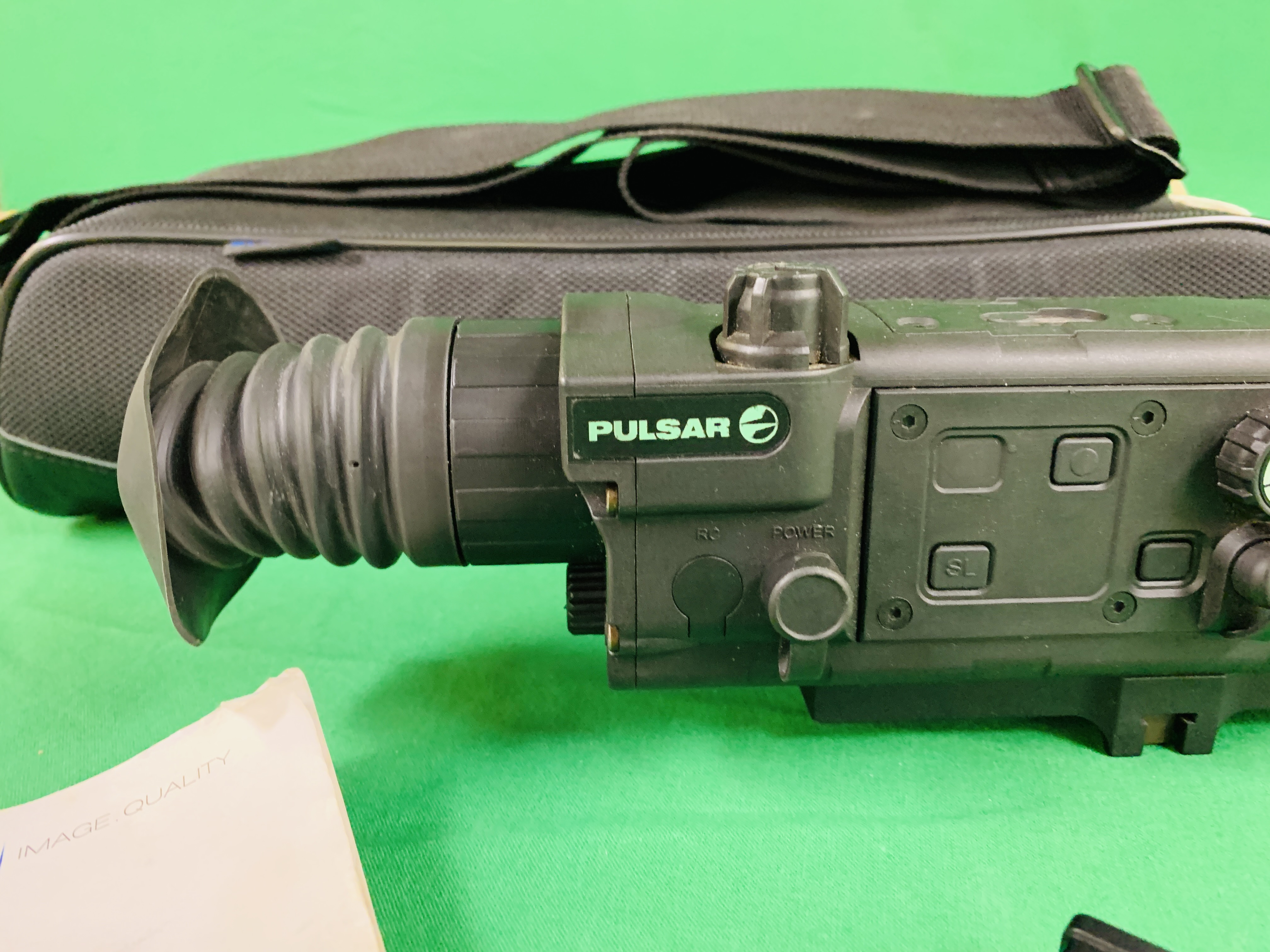 PULSAR N750 DIGI SIGHT RIFLE SCOPE COMPLETE WITH SONY TELE CONVERSION LENS ALONG WITH INSTRUCTION - Image 2 of 8