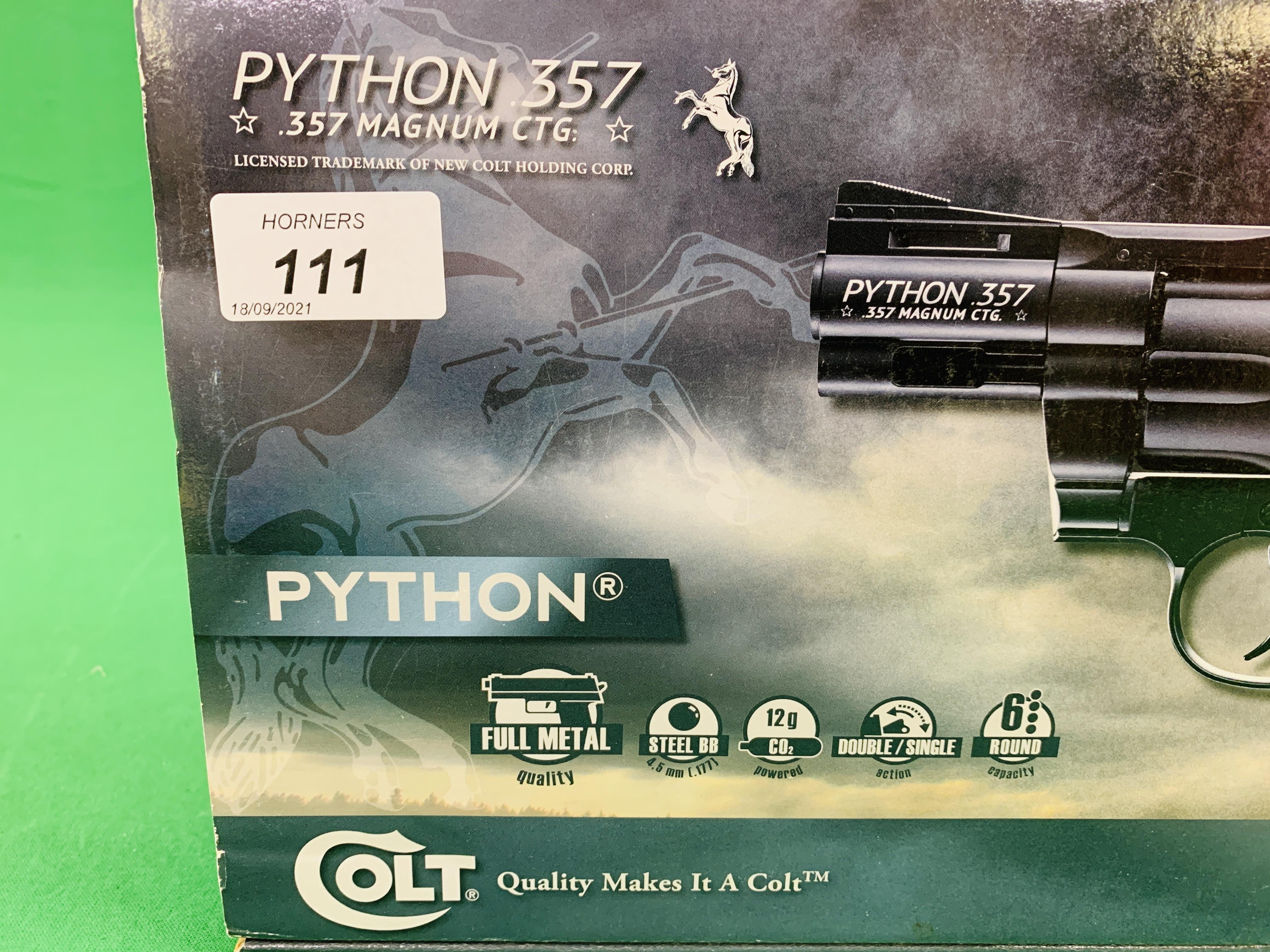 A COLT PYTHON 2. - Image 3 of 10