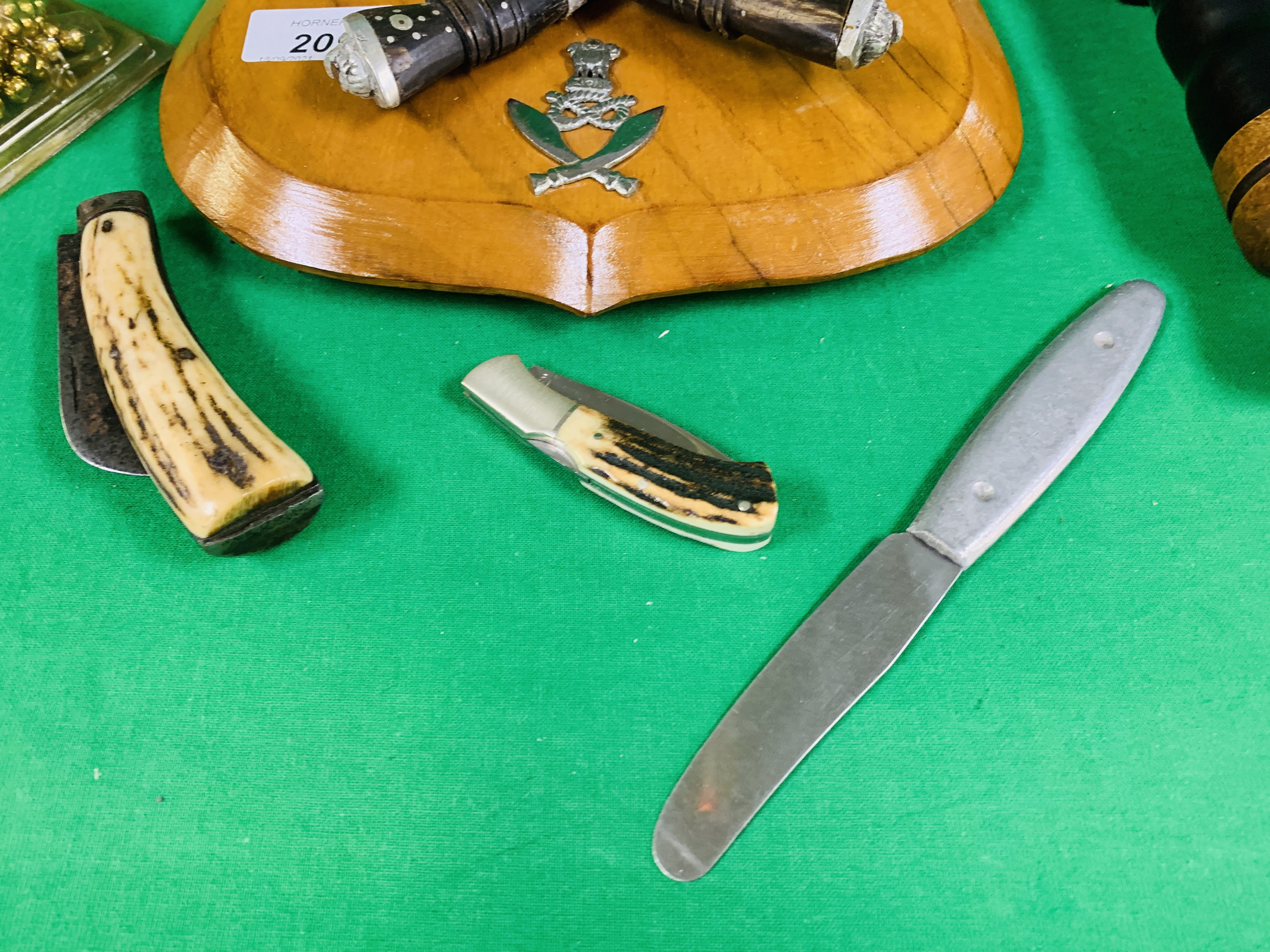 A PAIR OF CARL ZEISS 8 X 30 BINOCULARS, A DUCK CALL, SLINGSHOT & BALL BEARINGS, - Image 5 of 7