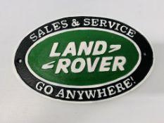 (R) LAND ROVER SALES & SERVICE