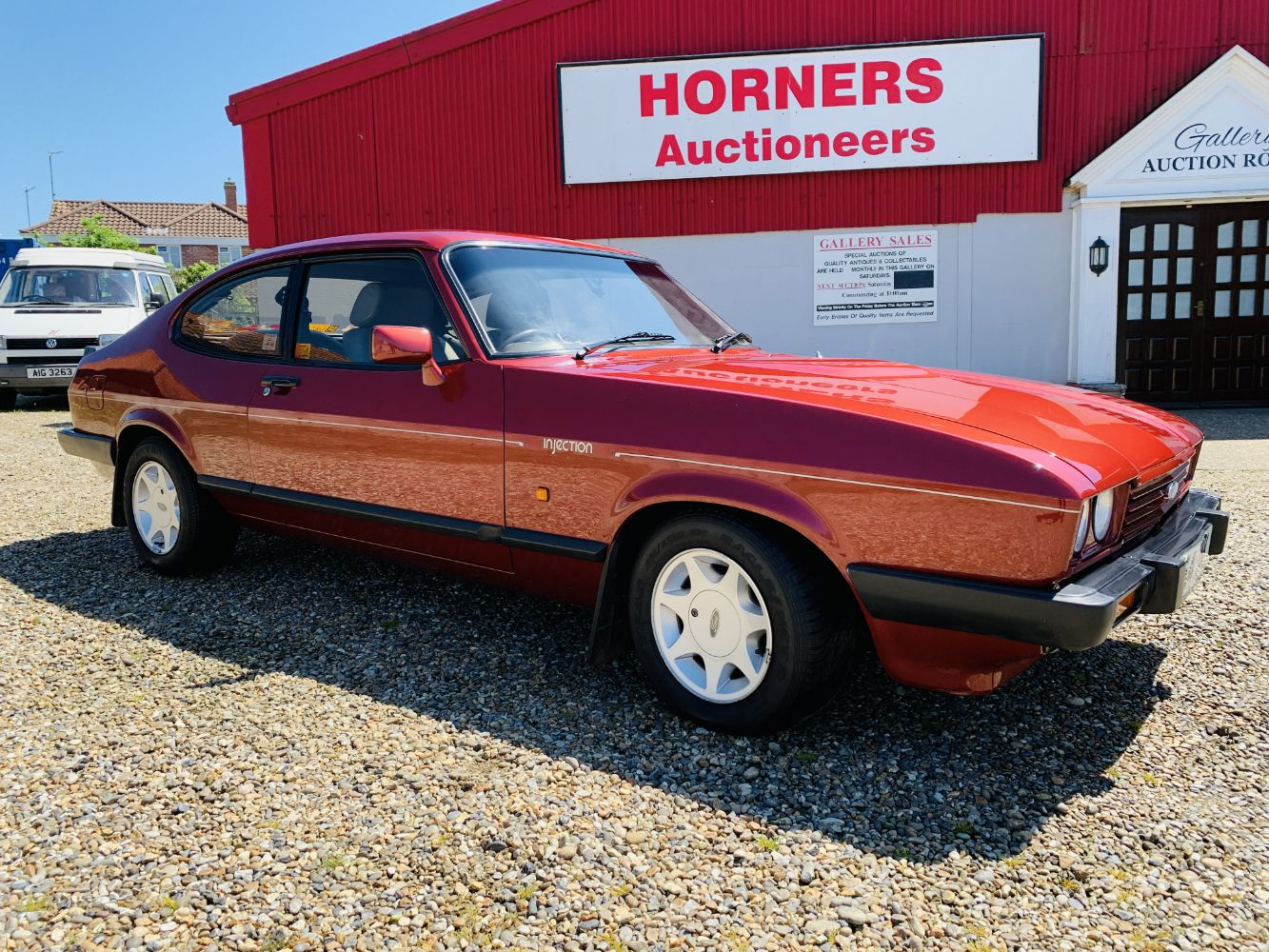 1986 Ford Capri, 90 Gold Coins, Comics, Period & Modern Furnishings, Antiques & Collectibles, Electricals, General and much more.