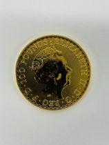 3 X 2021 BRITANIA ONE OUNCE GOLD BULLION COINS.