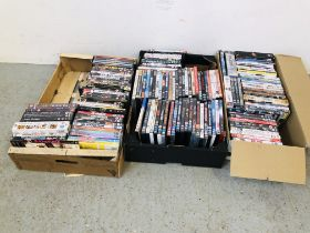 3 X BOXES OF ASSORTED DVD'S - SOLD AS SEEN