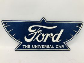 (R) OLD CAST FORD PLAQUE