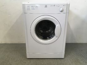 AN INDESIT 6KG TUMBLE DRYER MODEL IS60V - SOLD AS SEEN