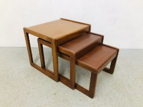 A SET OF 3 RETRO NATHAN STYLE GRADUATED WITH OCCASIONAL TABLES