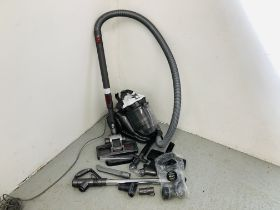 DYSON COMPACT HOOVER WITH ADDITIONAL ATTACHMENTS - SOLD AS SEEN
