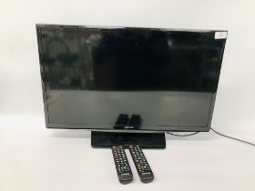 SAMSUNG 22 INCH TV WITH REMOTE - SOLD AS SEEN