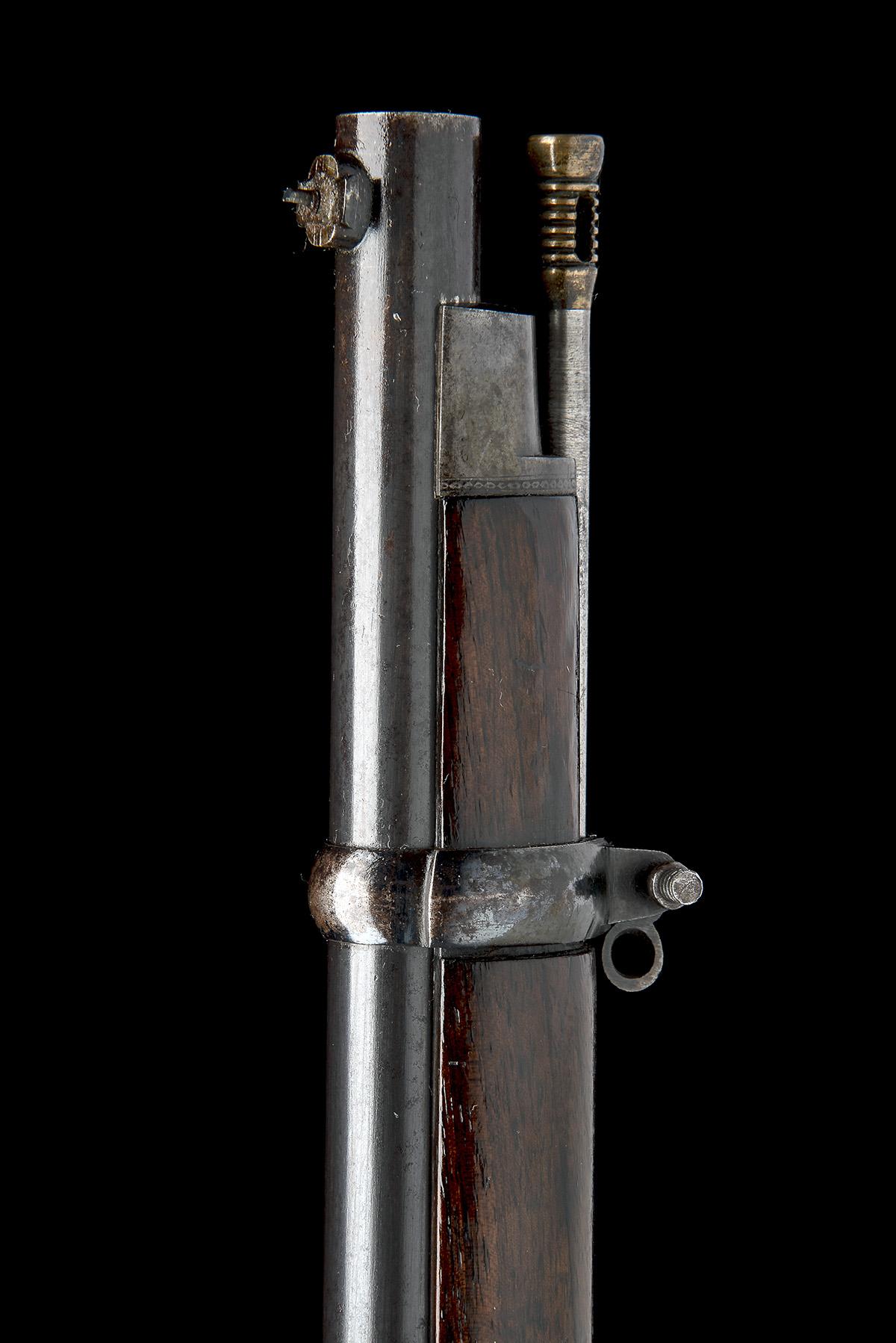THOMAS TURNER, BIRMINGHAM A RARE .451 PERCUSSION MILITARY-MATCH PRIZE-RIFLE, MODEL 'TURNER'S - Image 7 of 11
