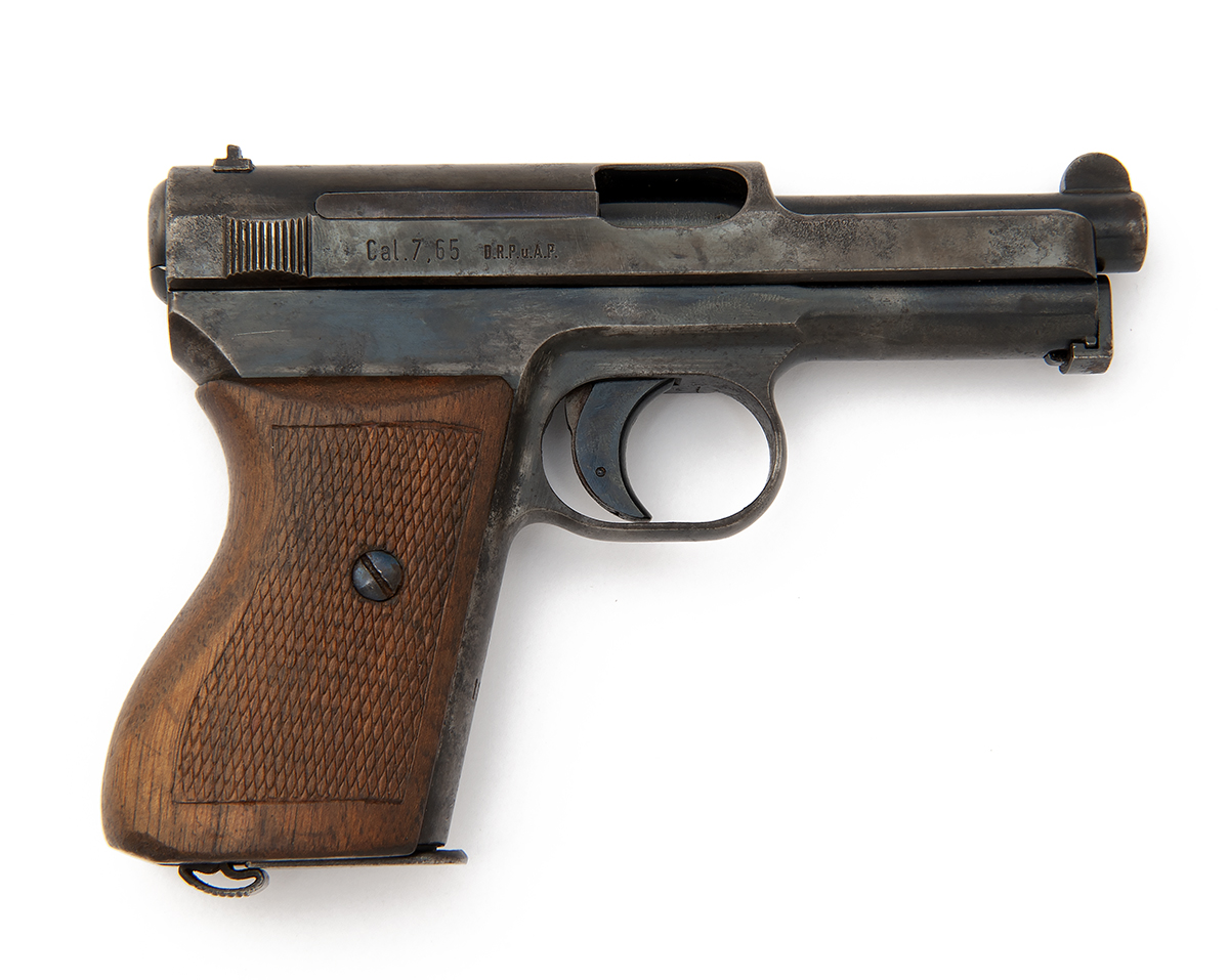 FORMERLY THE PROPERTY OF LORD BRABOURNE A 7.65mm SEMI-AUTOMATIC PISTOL FOR THE KRIEGSMARINE SIGNED