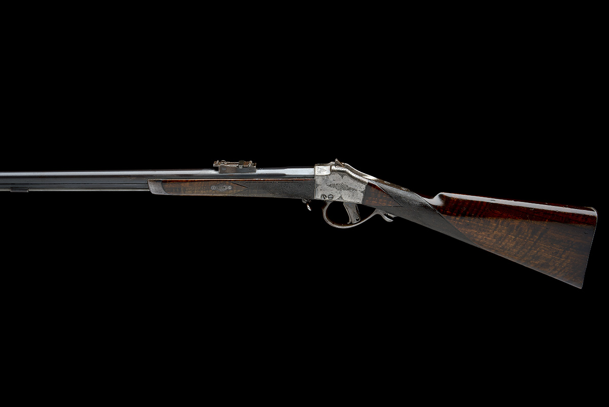 CHILEAN COMBLAIN AN 11x50R SINGLE-SHOT FALLING-BLOCK SPORTING-RIFLE, UNSIGNED, MODEL 'M84 COMBLAIN - Image 2 of 9