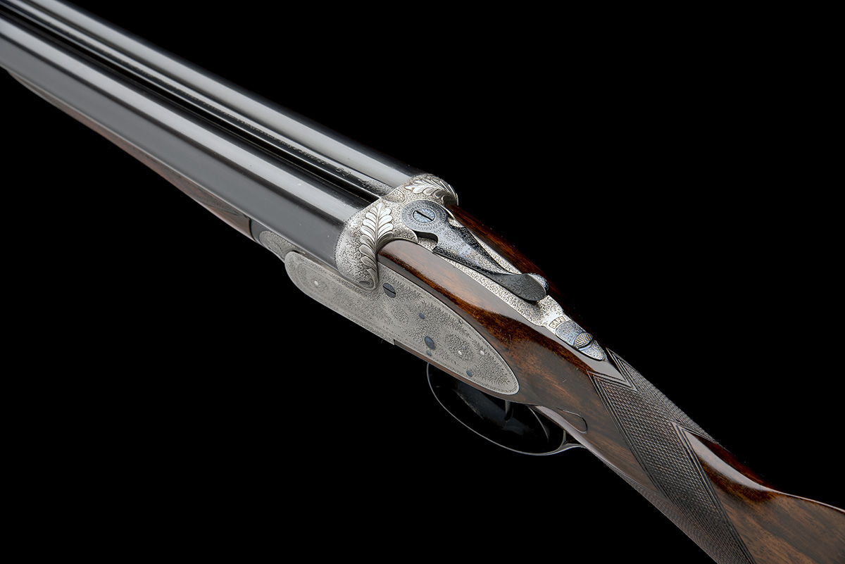 J. PURDEY & SONS A 12-BORE SELF-OPENING SIDELOCK EJECTOR, serial no. 13745, circa 1891, 29 7/8in. - Image 8 of 8