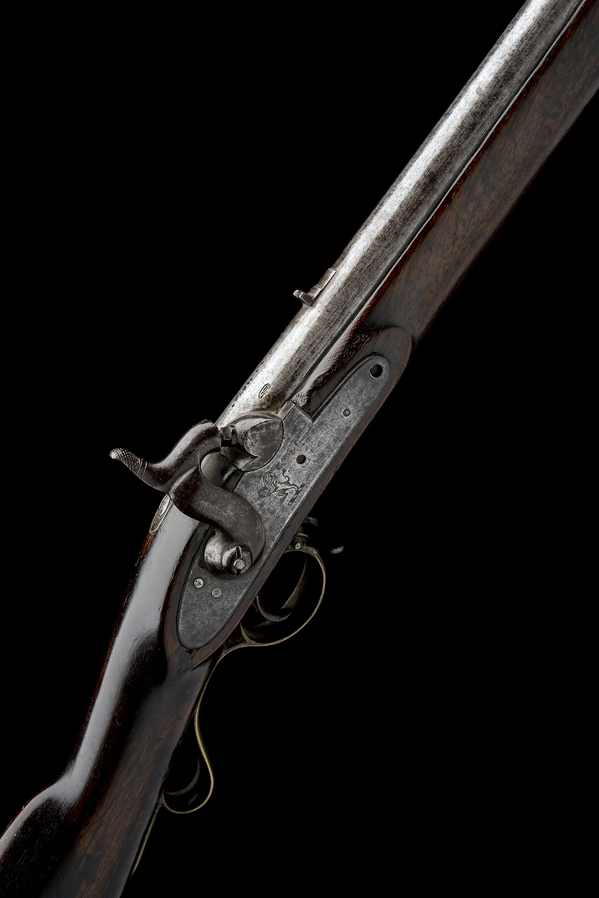 A .750 PERCUSSION SINGLE-SHOT MUSKET FOR THE EAST INDIA COMPANY, MODEL '1839 SERGEANT OF THE LINE