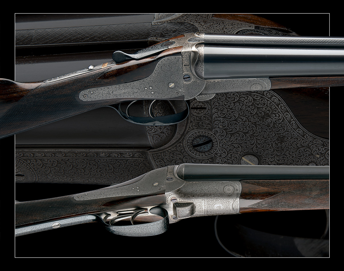 FREDc. T. BAKER A 12-BORE NEEDHAM 1874 PATENT HAMMERLESS SIDELOCK EJECTOR, serial no. 6749, circa - Image 11 of 11