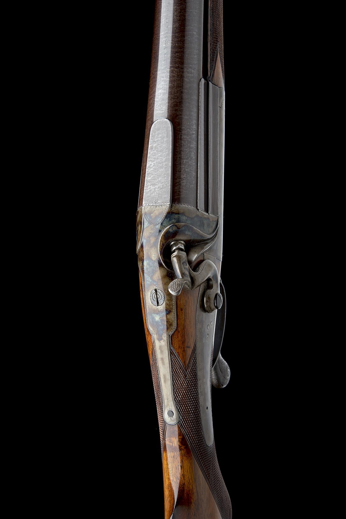 R.B. RODDA A 4-BORE SINGLE-BARRELLED ROTARY-UNDERLEVER HAMMERGUN, serial no. 26013, circa 1880, 38 - Image 4 of 8