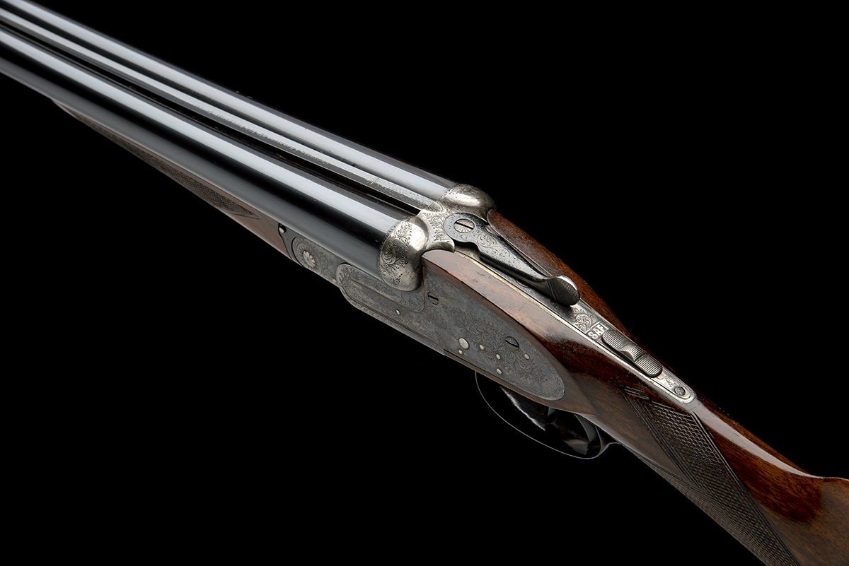 COGSWELL & HARRISON A 12-BORE SIDELOCK EJECTOR, serial no. 56378, circa 1929, 27 1/2in. (70cm) nitro - Image 5 of 8