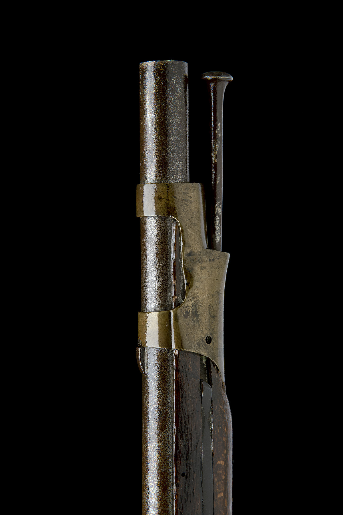 DANZIG ARSENAL, GERMANY A .695 PERCUSSION RIFLED MUSKET, MODEL 'POTSDAM STYLE', serial no. Z843, - Image 6 of 8