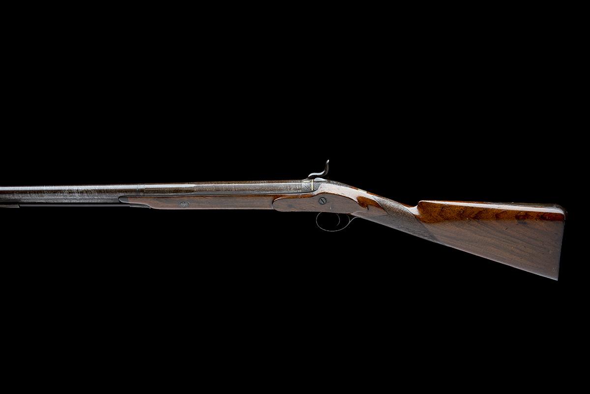 W. DAVISON, NEWCASTLE A 14-BORE PERCUSSION SINGLE-BARRELLED SPORTING-GUN, no visible serial - Image 2 of 10