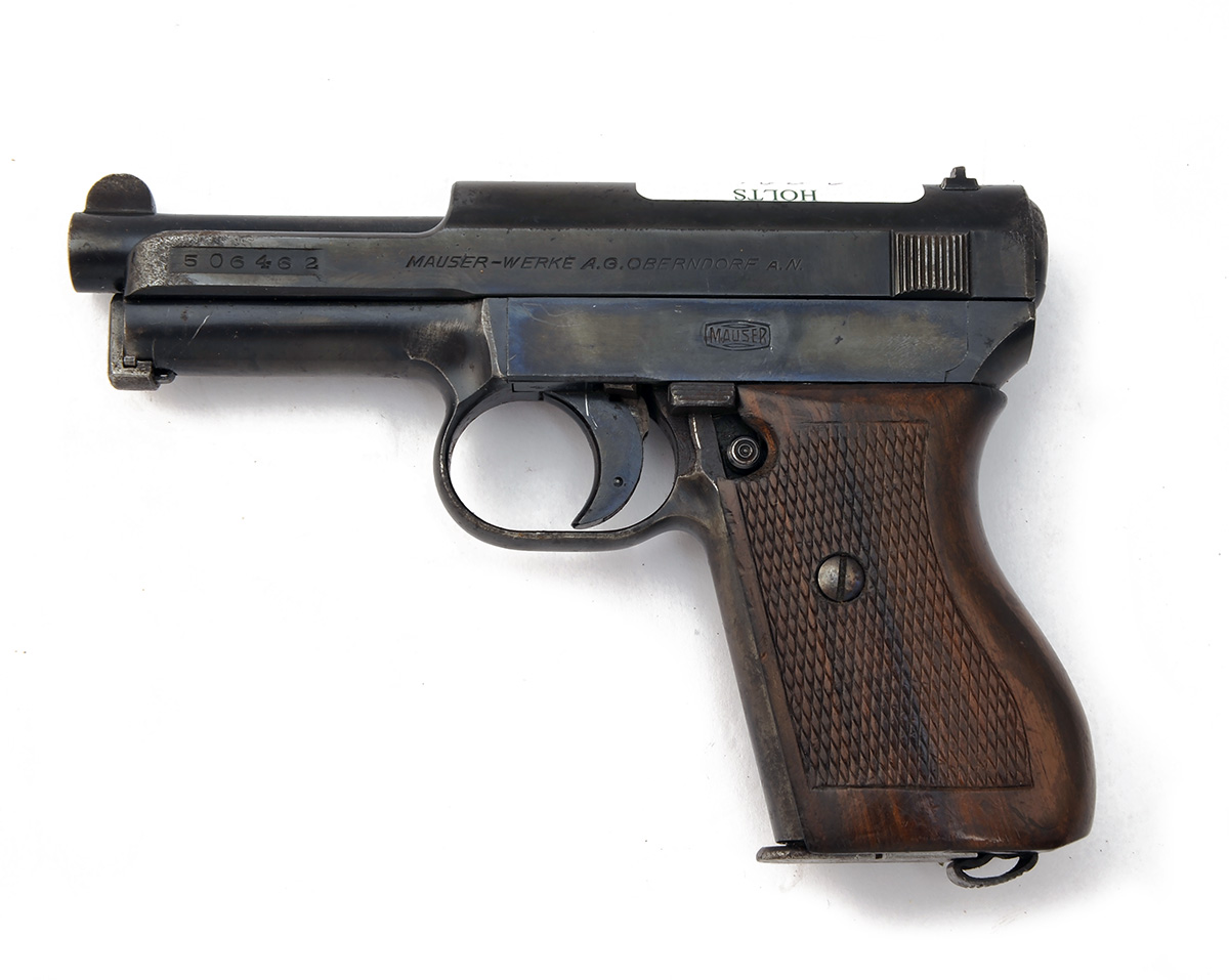 FORMERLY THE PROPERTY OF LORD BRABOURNE A 7.65mm SEMI-AUTOMATIC PISTOL SIGNED MAUSER, MODEL 'M1934', - Image 2 of 3