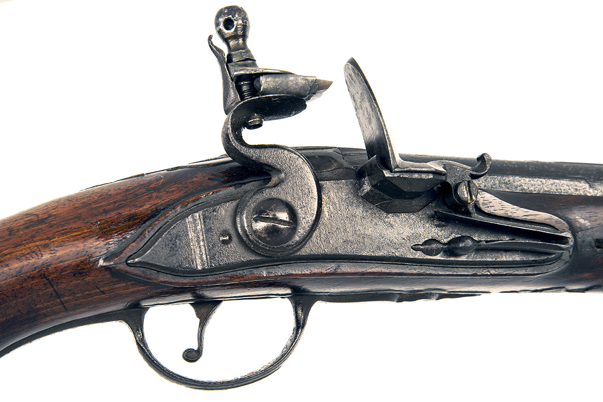A 22-BORE FLINTLOCK HORSE-PISTOL, UNSIGNED, no visible serial number, German or Bohemian circa 1775, - Image 7 of 7