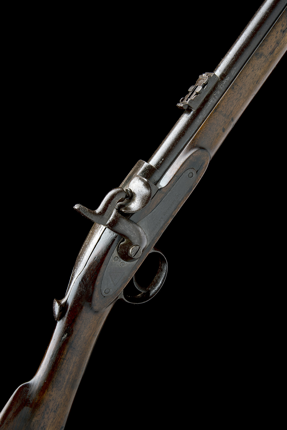 WESTLEY RICHARDS & CO, BIRMINGHAM A .450 (WHITWORTH) CAPPING BREECH-LOADING CARBINE, MODEL '