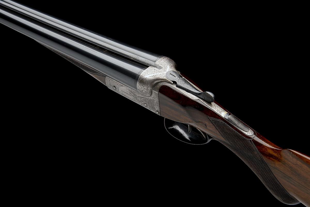 LINCOLN JEFFRIES A 12-BORE (3IN. MAGNUM) 'LONG RANGE HIGH VELOCITY BARRELS GUN' BOXLOCK NON- - Image 5 of 8