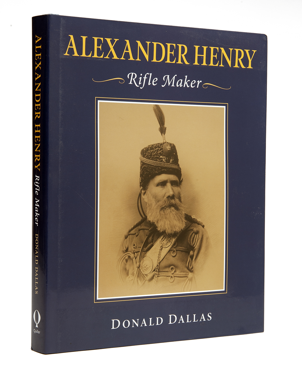 DONALD DALLAS, 'ALEXANDER HENRY - RIFLE MAKER', a signed limited edition no. 650 of 750, forward and