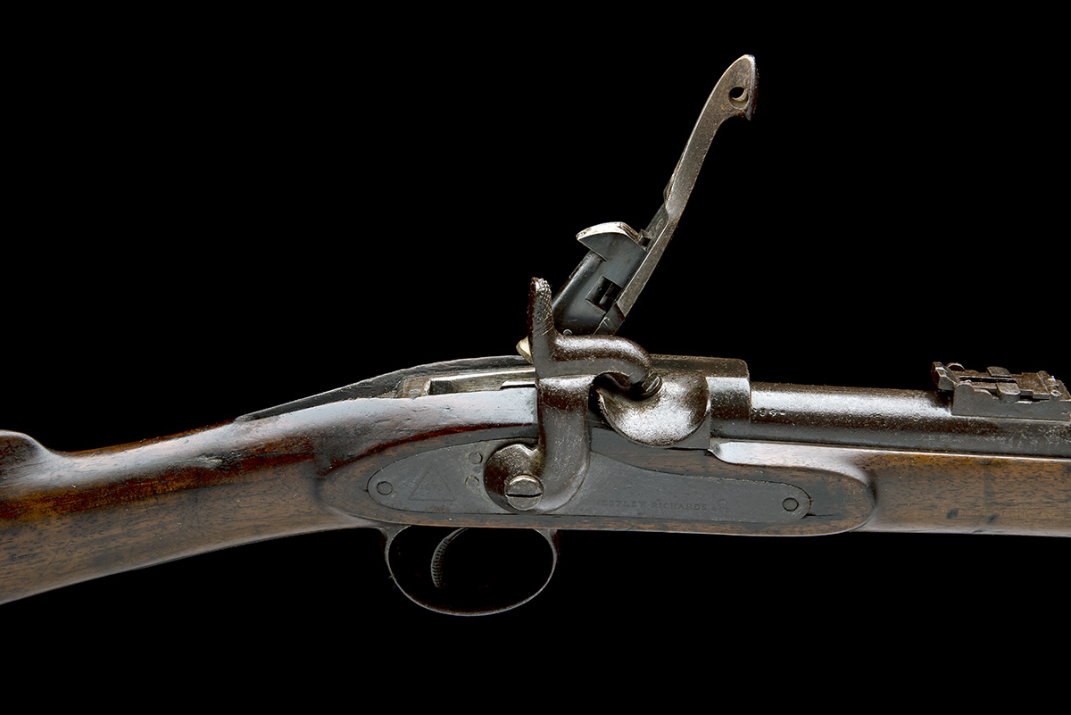 WESTLEY RICHARDS & CO, BIRMINGHAM A .450 (WHITWORTH) CAPPING BREECH-LOADING CARBINE, MODEL ' - Image 7 of 9