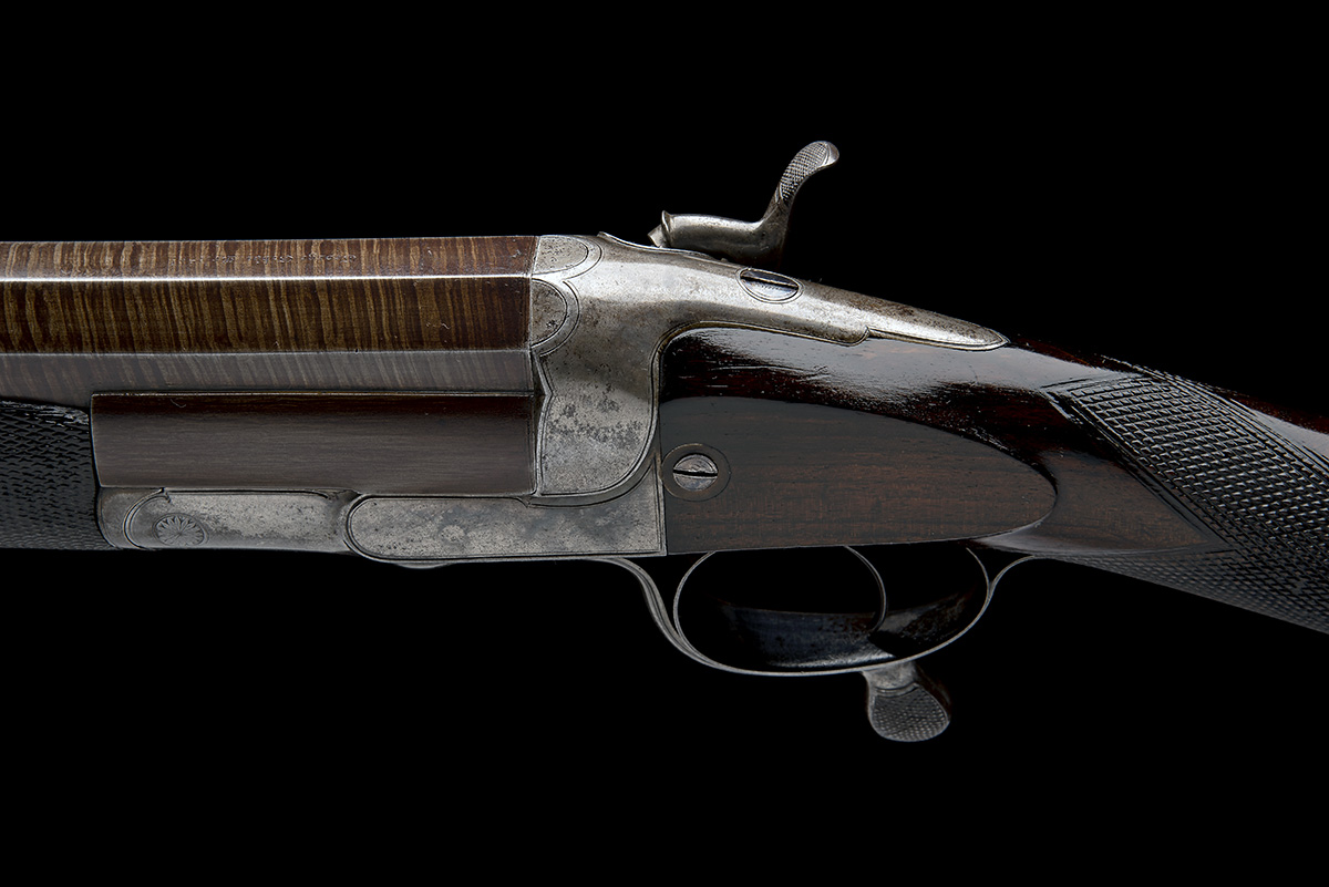GEORGE GIBBS A 4-BORE SINGLE-BARRELLED ROTARY-UNDERLEVER HAMMERGUN, serial no. 3638, serial number - Image 4 of 9
