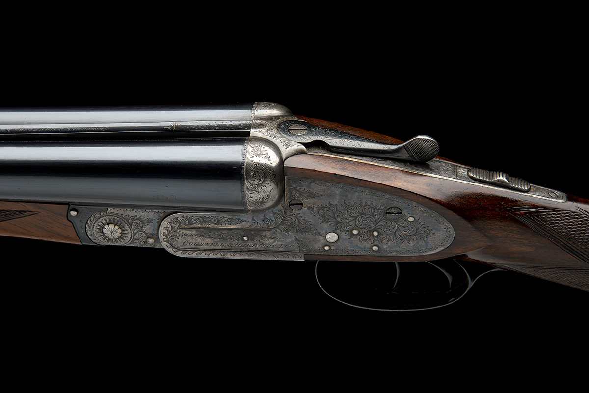 COGSWELL & HARRISON A 12-BORE SIDELOCK EJECTOR, serial no. 56378, circa 1929, 27 1/2in. (70cm) nitro - Image 4 of 8