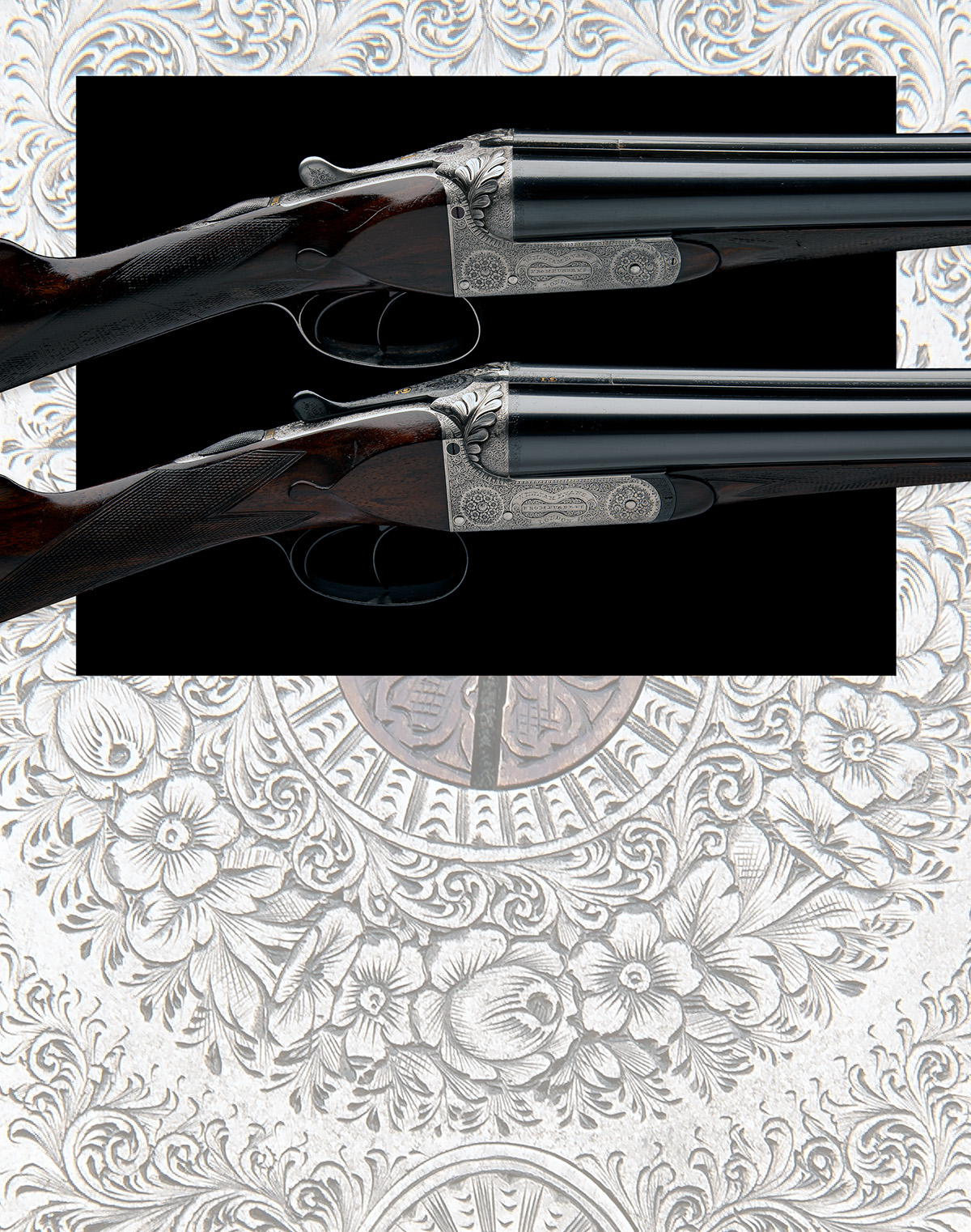 WILLIAM EVANS (FROM PURDEY'S) A PAIR OF 12-BORE BOXLOCK EJECTORS, serial no. 5433 / 4, for 1901, - Image 11 of 11