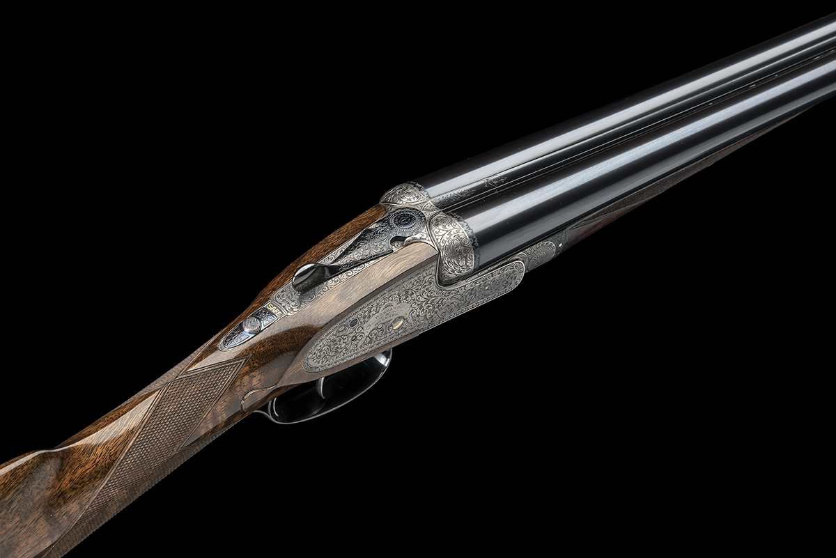 HOLLAND & HOLLAND A 12-BORE 'ROYAL' SELF-OPENING HAND-DETACHABLE SIDELOCK EJECTOR, serial no. 33347, - Image 5 of 9