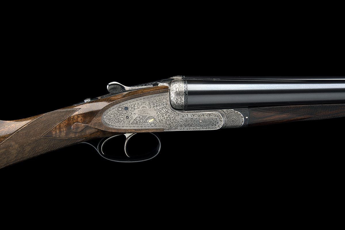 HOLLAND & HOLLAND A 12-BORE 'ROYAL' SELF-OPENING HAND-DETACHABLE SIDELOCK EJECTOR, serial no. 33347, - Image 2 of 9