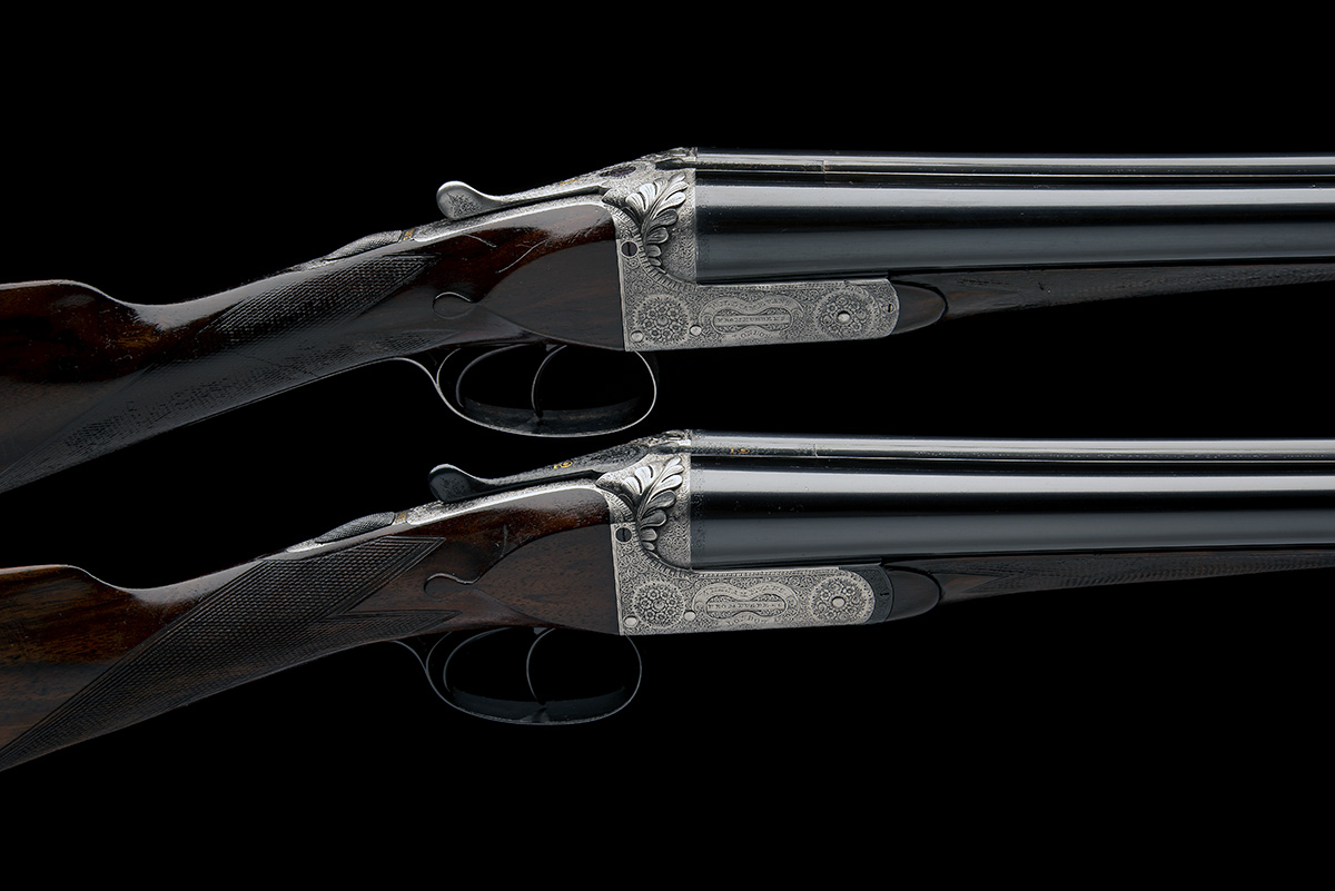 WILLIAM EVANS (FROM PURDEY'S) A PAIR OF 12-BORE BOXLOCK EJECTORS, serial no. 5433 / 4, for 1901,