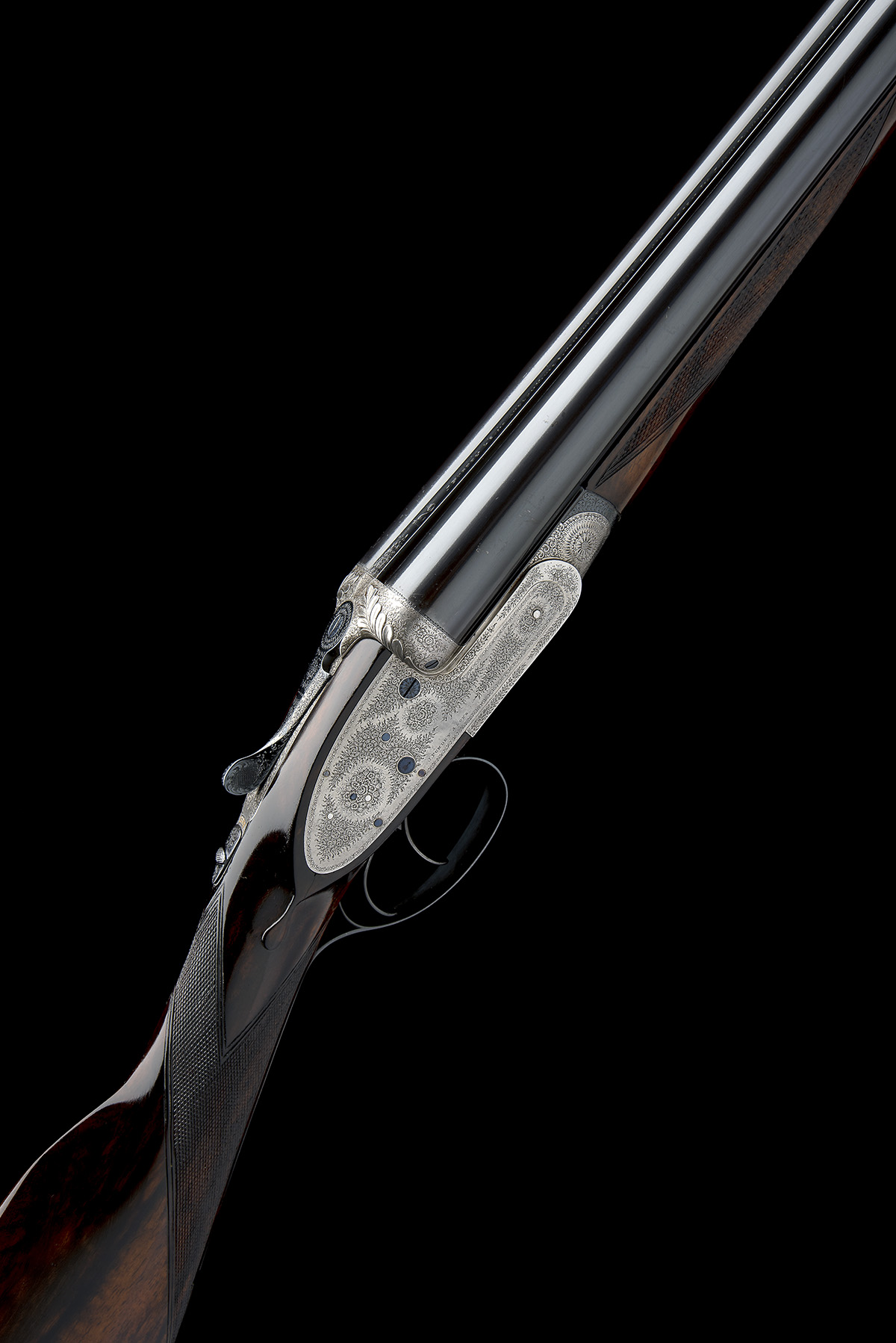 J. PURDEY & SONS A 12-BORE SELF-OPENING SIDELOCK EJECTOR, serial no. 13745, circa 1891, 29 7/8in.