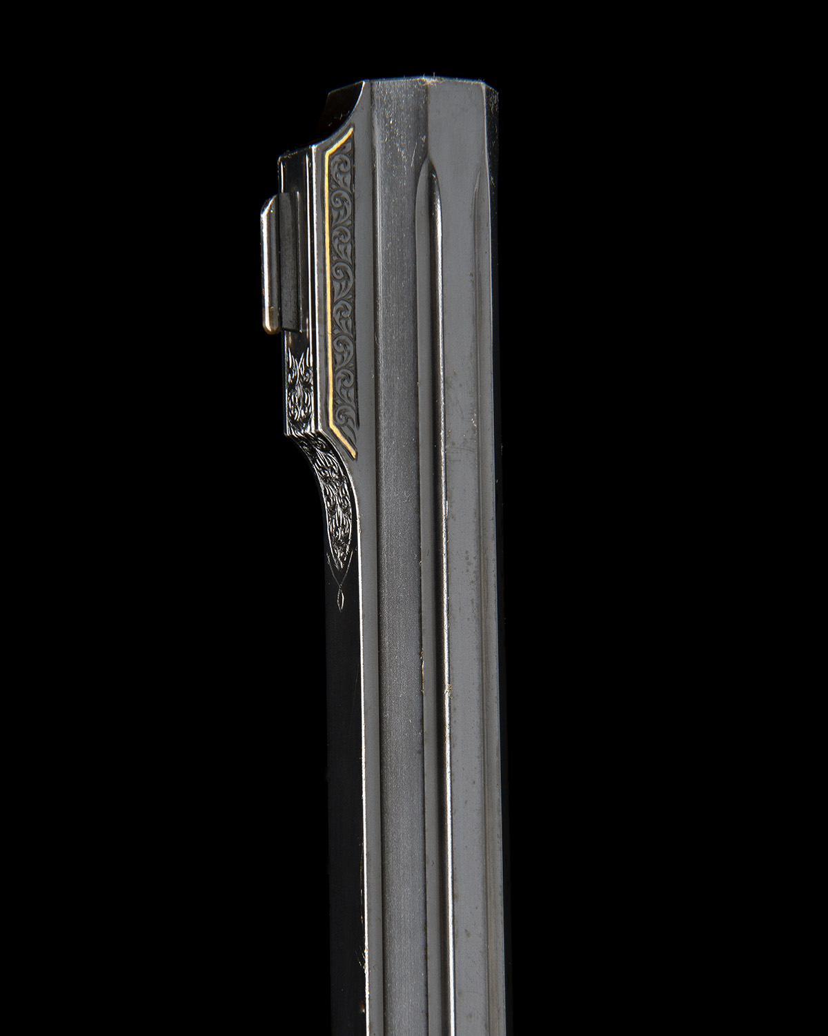 H. SCHEIRING A .300 WIN. MAG. JAEGER PATENT SINGLE-BARRELLED SIDEPLATED PUSH-FORWARD UNDERLEVER - Image 11 of 13