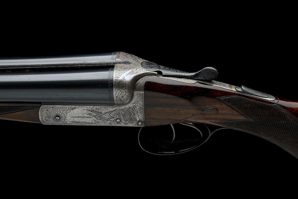 LINCOLN JEFFRIES A 12-BORE (3IN. MAGNUM) 'LONG RANGE HIGH VELOCITY BARRELS GUN' BOXLOCK NON- - Image 4 of 8