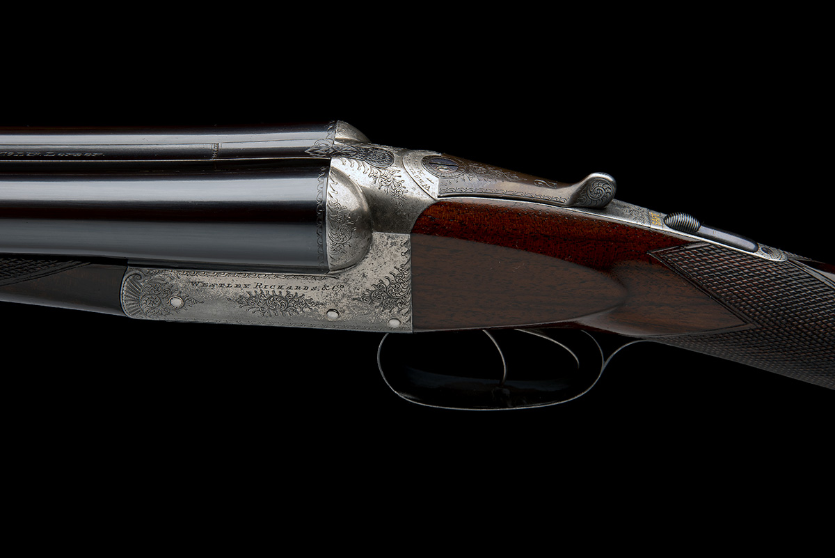WESTLEY RICHARDS & CO. A 12-BORE BOXLOCK EJECTOR, serial no. c.8313, circa 1901, 28in. replacement - Image 7 of 8