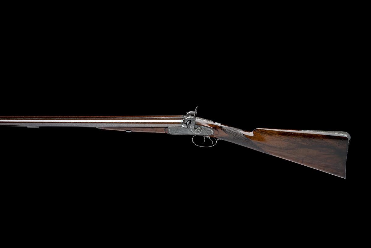 G & J DEAN, LONDON A FINE 16-BORE PERCUSSION DOUBLE-BARRELLED SPORTING-GUN, serial no. 6201, circa - Image 2 of 8