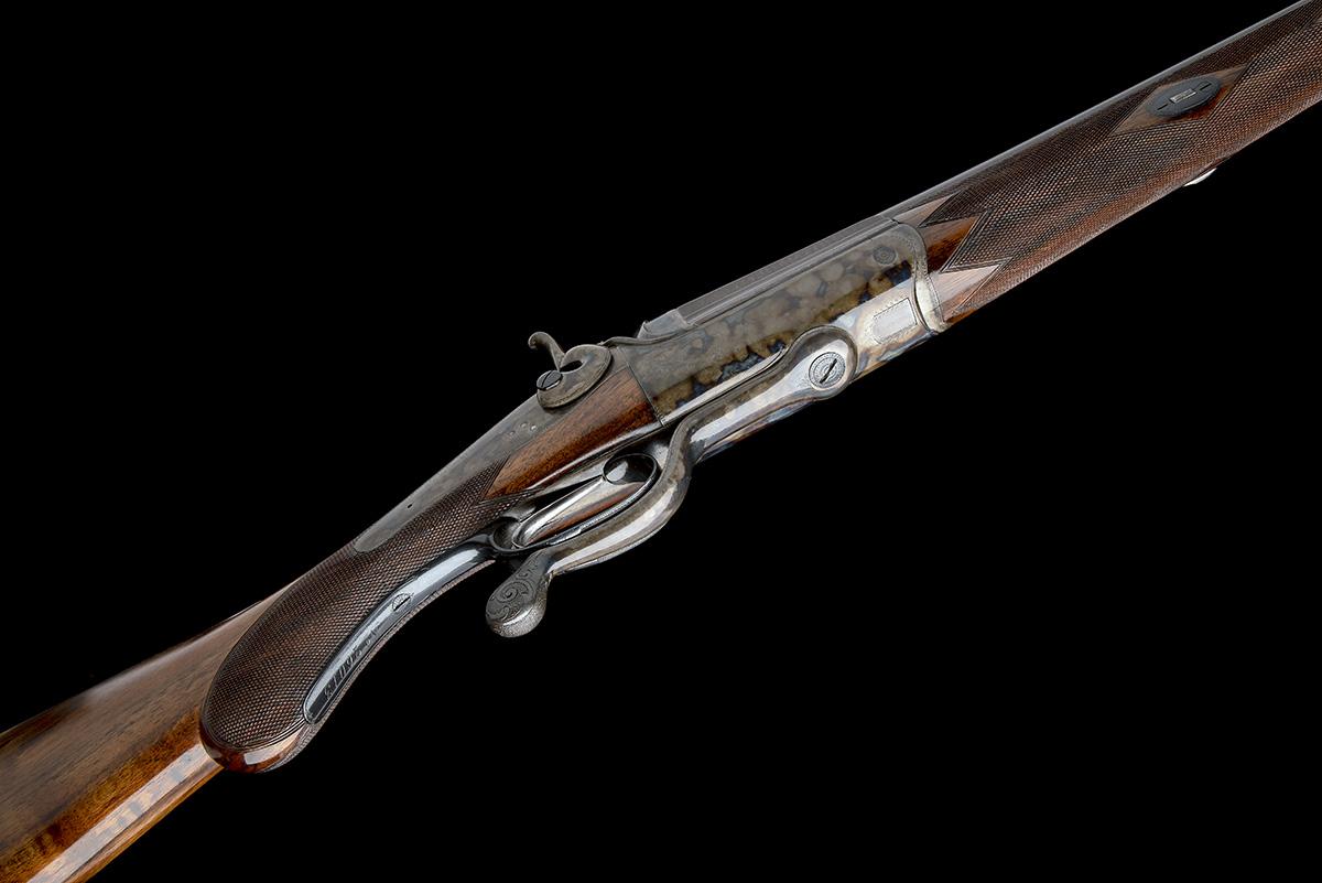 R.B. RODDA A 4-BORE SINGLE-BARRELLED ROTARY-UNDERLEVER HAMMERGUN, serial no. 26013, circa 1880, 38 - Image 3 of 8