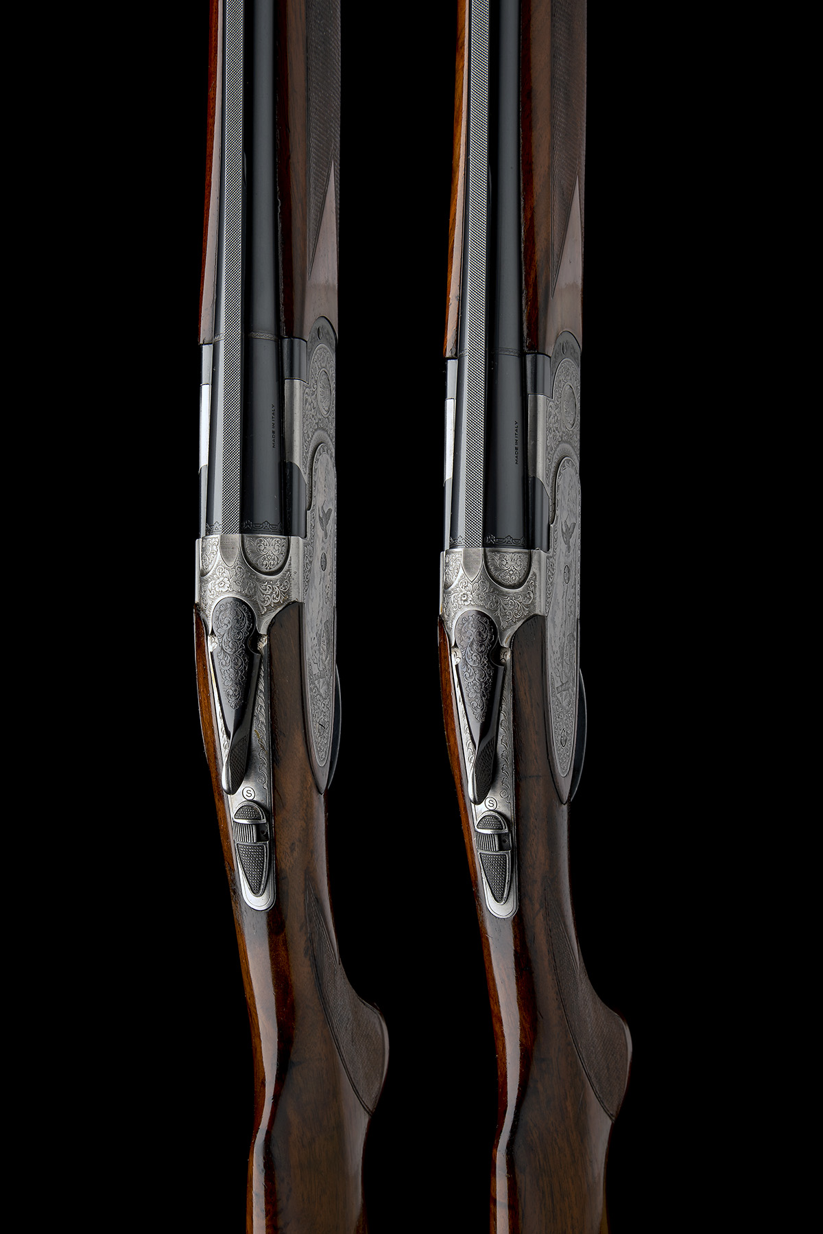 P. BERETTA A PAIR OF 20-BORE 'MOD. 687 EELL' SINGLE-TRIGGER OVER AND UNDER EJECTORS, serial no. - Image 6 of 10